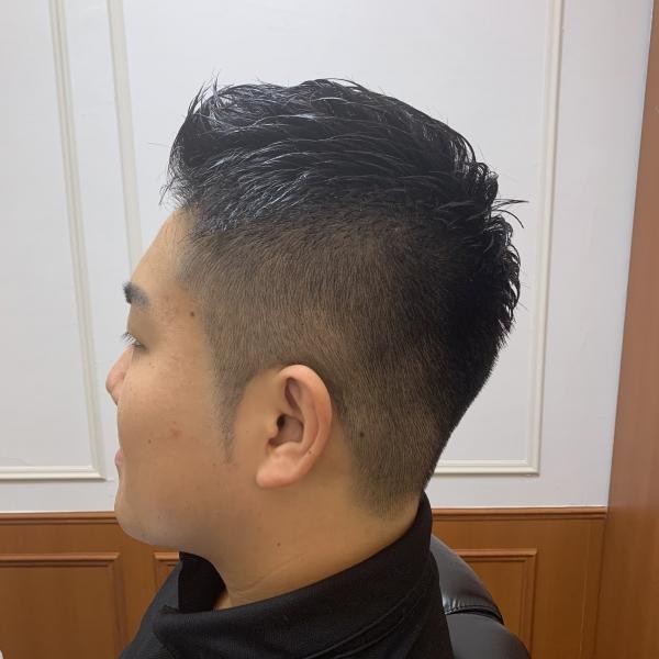 硬い髪解決パーマショート