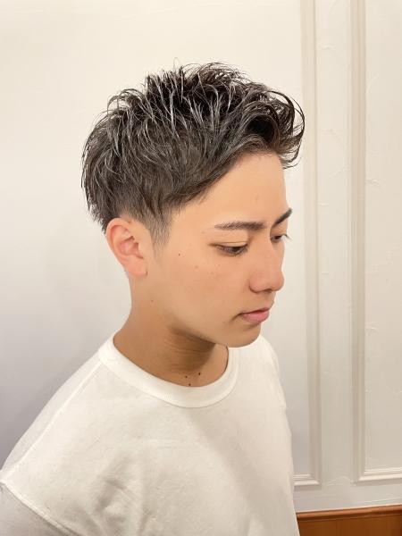 直毛改善☆ゆるめアイロンパーマ